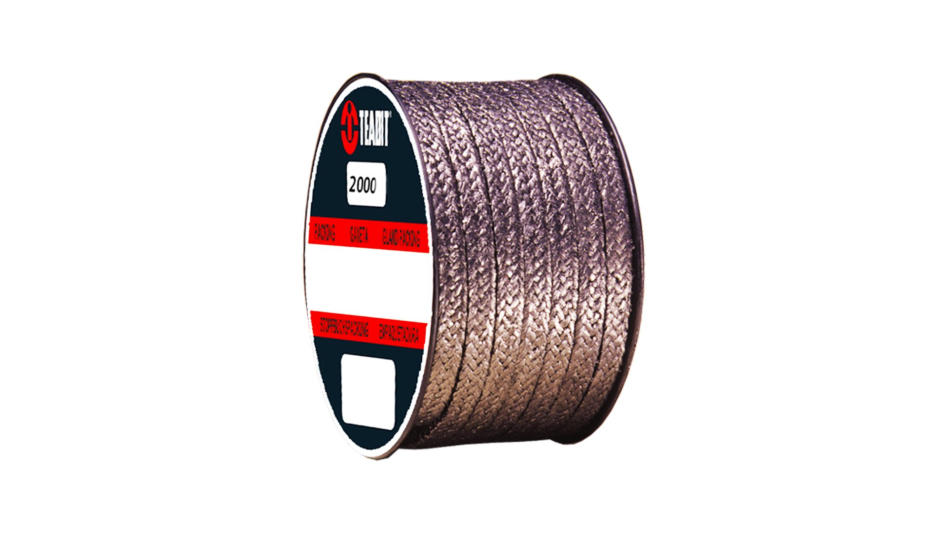 Sterling Seal and Supply (STCC) 2000.437x1 Teadit Style 2000 Braided Flexible Graphite Packing, 7/16'' CS x 1 lb. Spool