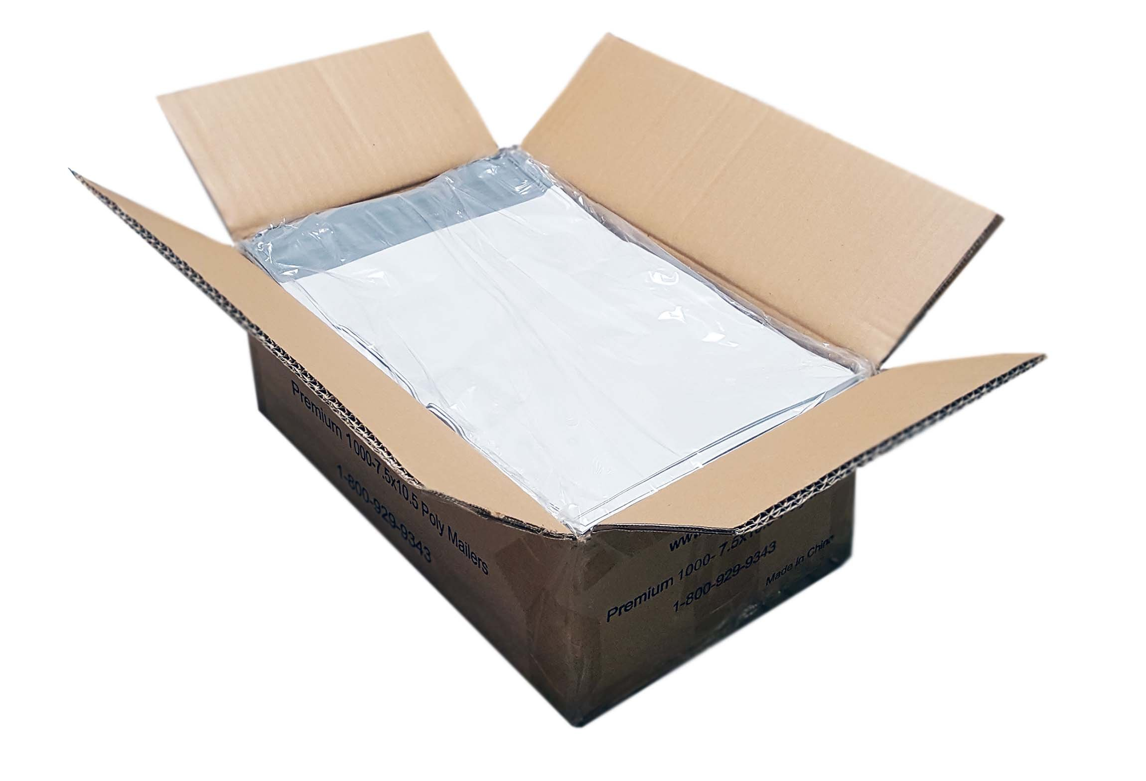 iMBAPrice 1000 - 7.5x10.5 Premium Matte Finish White Poly Mailers Envelopes Bags (iMBA-2PM-1000) by iMBAPrice