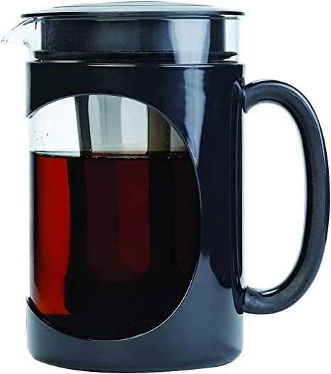 Primula Burke Deluxe Cold Brew Iced Coffee Maker Comfort Grip Handle Durable