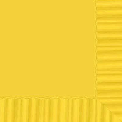 Yellow Sunshine Beverage Napkin: Toys & Games