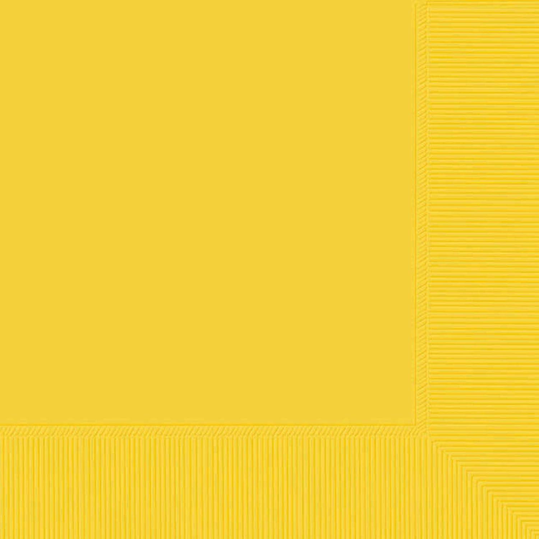 Yellow Sunshine Beverage Napkin