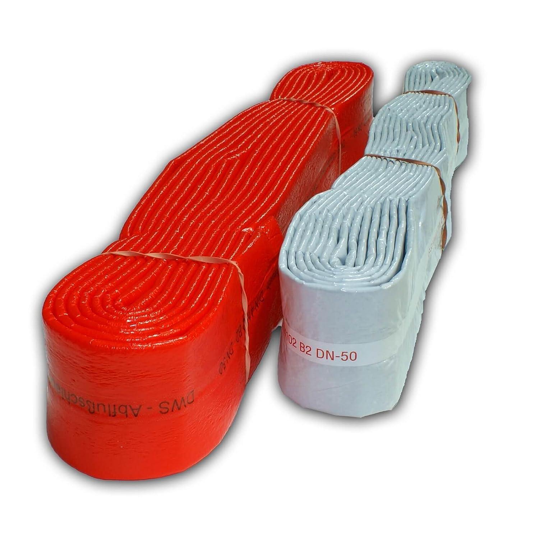 Stabilo-Sanitaer PE Isolierschlauch 28mm 3//4 Zoll rot Rohr D/ämmung Schlauch Isolierung Rohrisolierung Schutzschlauch Isolation Rohrd/ämmung