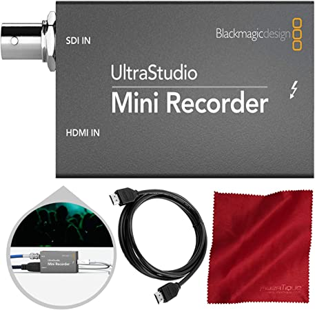 Blackmagic Ultrastudio Mini Recorder With Hdmi Cable Amazon Co Uk Computers Accessories