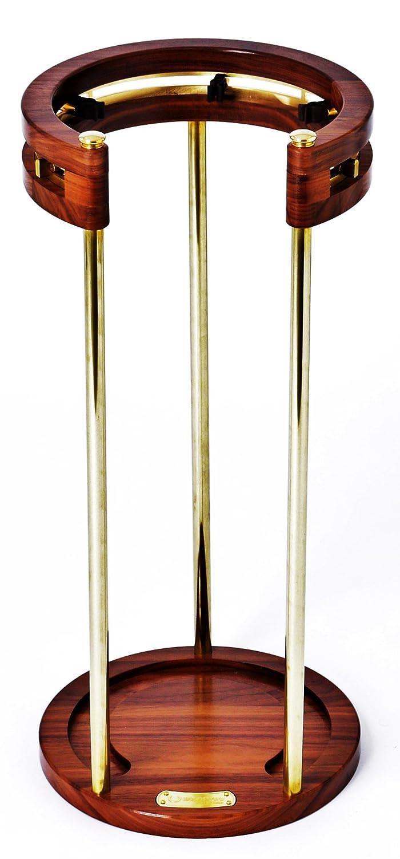 BRANCO(ブランコ) ゴルフクラブスタンド(Pシリーズ/ウォルナット無垢材&真鍮) B00WG9UOVI