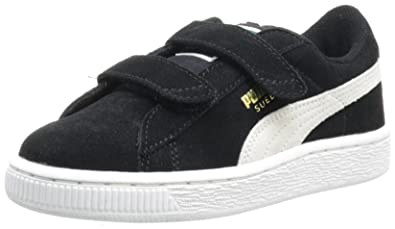 the latest 9ff3c 3ce27 Puma Suede 2 Straps Kids Sneaker: Amazon.co.uk: Shoes & Bags