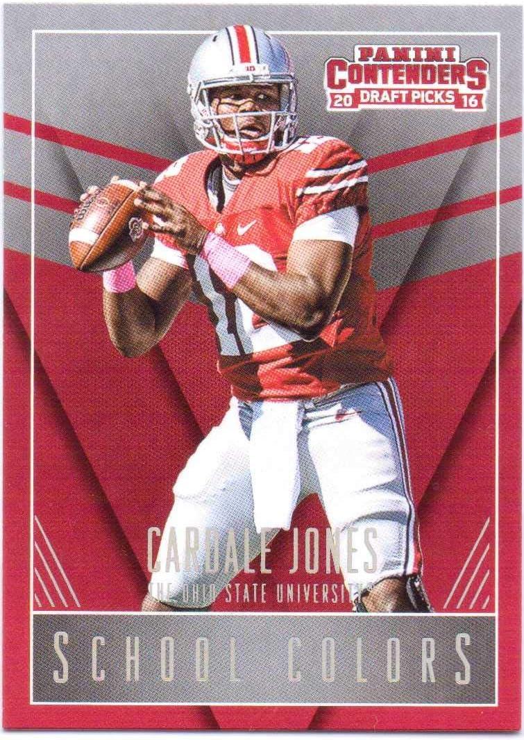 Cardale Jones Ohio State Buckeyes Football Jersey - Red