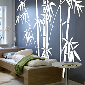 Exceptionnel Vinyl Bamboo Wall Decal Bamboo Wall Quote Tree Wall Sticker Wall Grpahic  Home Art Decor 3