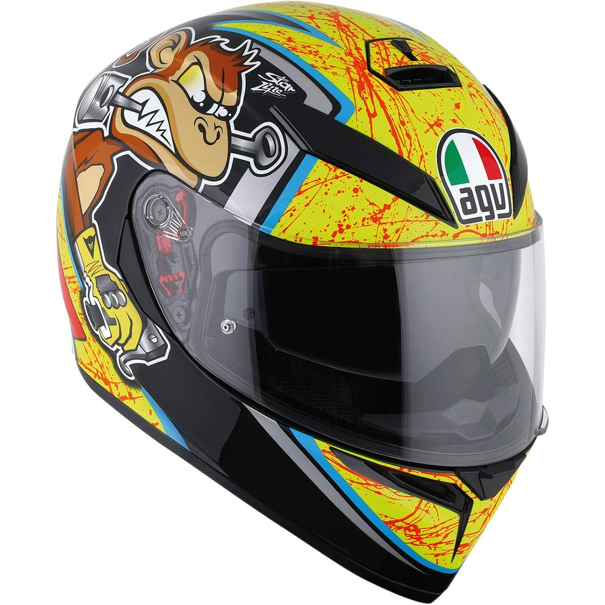 DOT-Approved AGV K3 SV Bulega Motorcycle Helmet XS