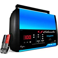 Schumacher SC1359 15 Amp 3 Amp 6V/12V Fully Automatic Smart Battery Charger Maintainer Auto Desulfator Auto 6V/12V…