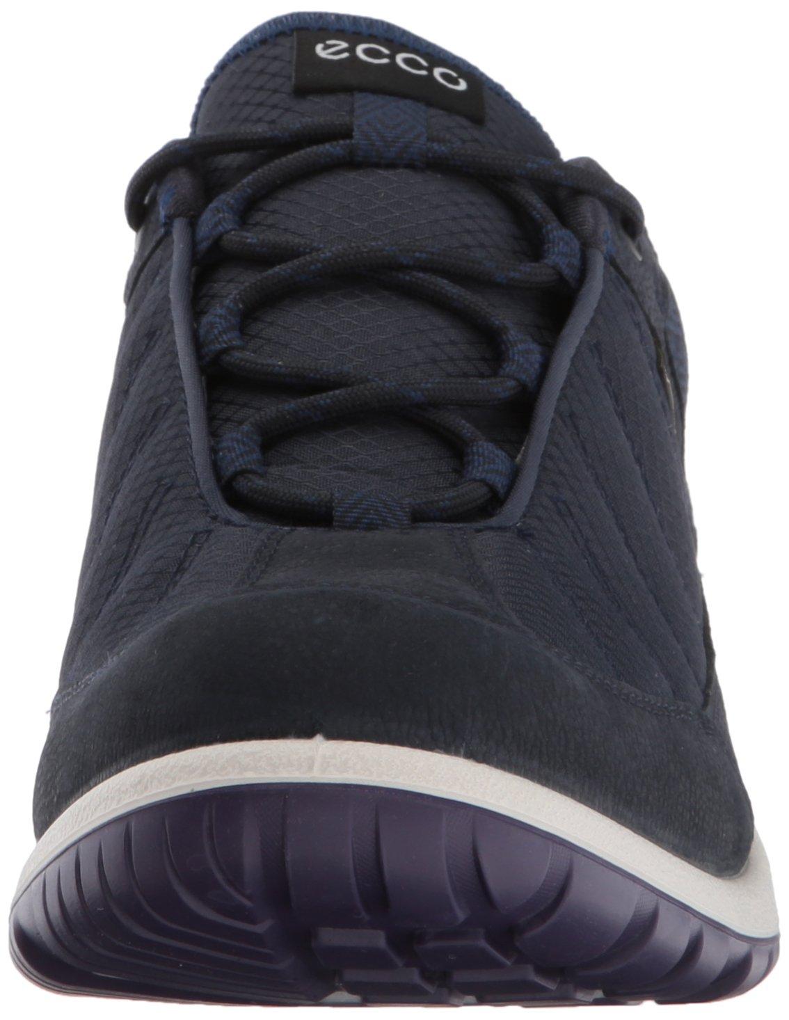 ECCO Women's Aspina Low Gore-Tex Textile Hiking Shoe B01M7U6KCZ 41 EU / 10-10.5 US Navy/True Navy