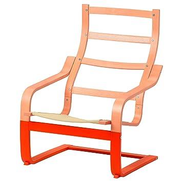 IKEA ASIA POANG Marco para sillón, Color Naranja: Amazon.es ...