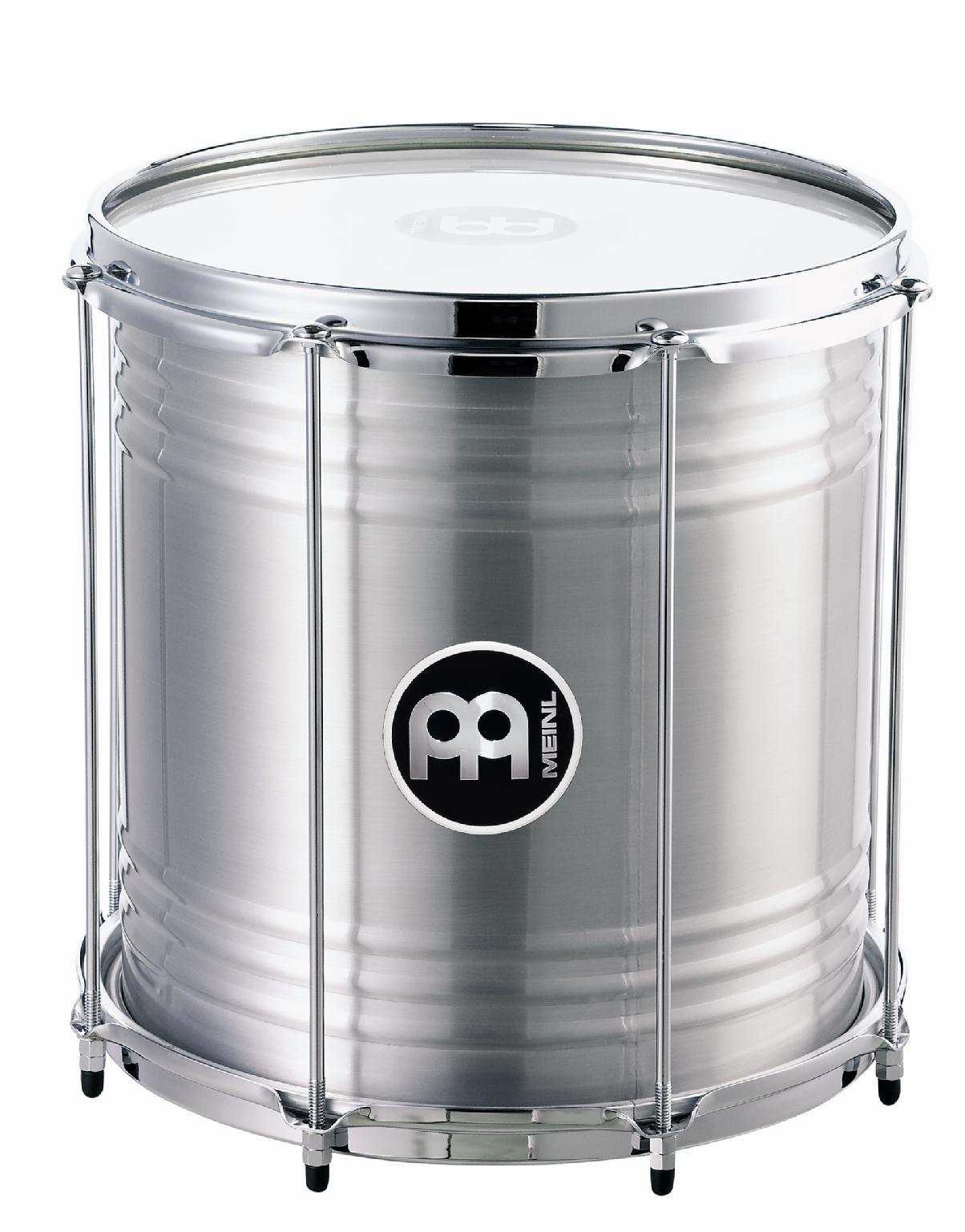 Meinl Percussion Repinique with 12'' Aluminum Shell, Perfect for Samba Music-NOT Made in CHINA-12 Tunable Synthetic Heads, 2-Year Warranty (RE12)