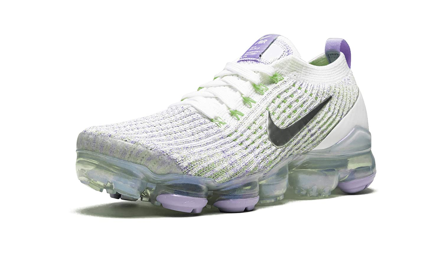 check out 29181 56acd Amazon.com | Nike Air Vapormax Flyknit 3 (True White/Purple ...