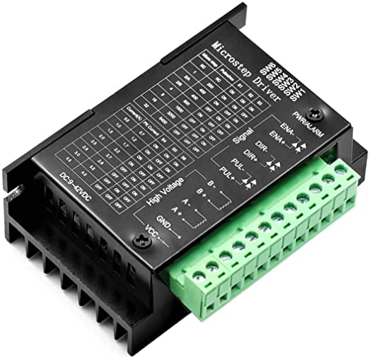 Nema 23 1X ~ 5X TB6600 Stepper Motor Driver 9~40V 3.5A Micro-Step for Nema 17