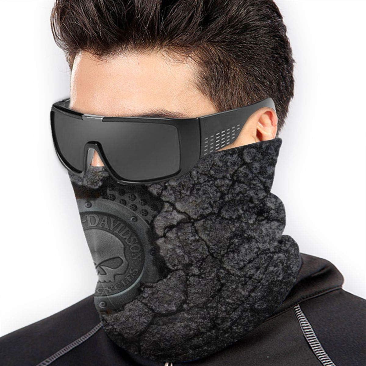 BGNHG Gu/être cache-cou Harley David-Son Logo /Écharpe en microfibre douce pour les chapeaux pour le froid et lhiver pour les femmes