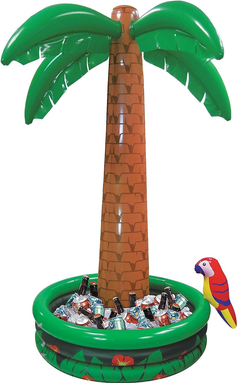 Palme aufblasbar mit aufblasbarem Getränkekühler 182 cm Partypalme