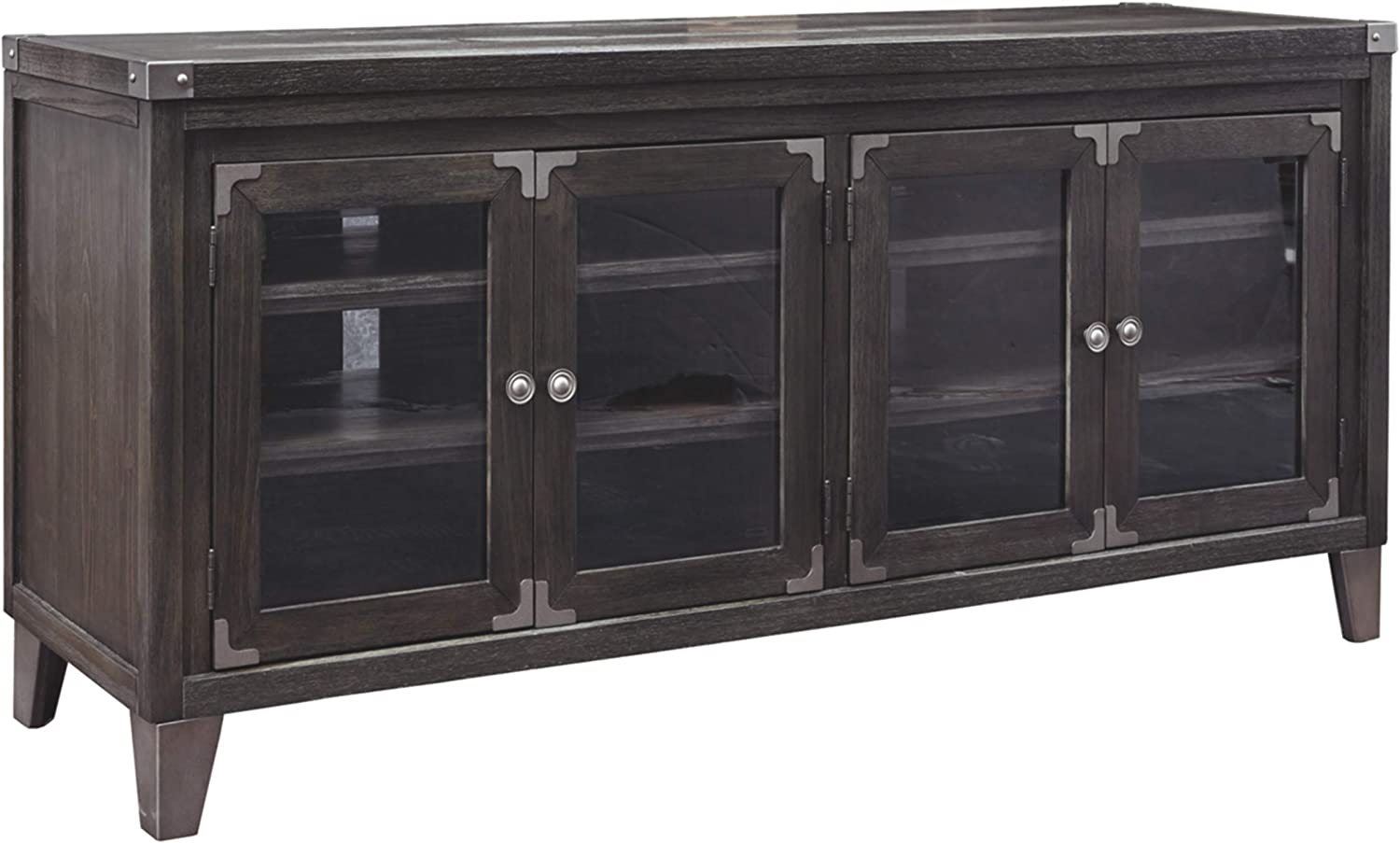 Signature Design by Ashley Todoe Extra Large TV Stand, Gray