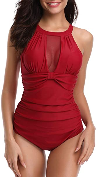 Amazon.com: YD Yongdong Trajes de baño para mujer Halter ...