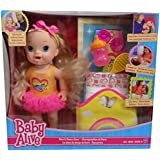 Baby Alive Darcis Dance Class Blonde Hair Doll