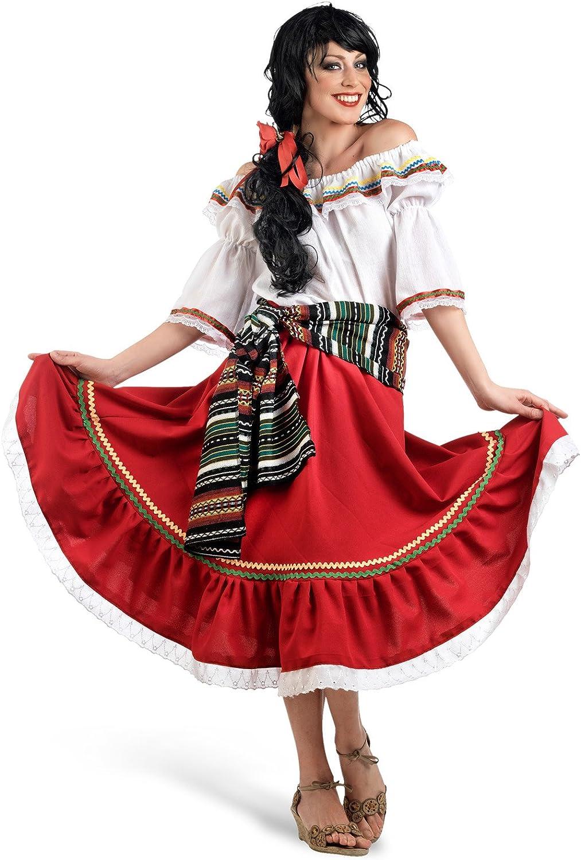 Limit Sport - Disfraz de mexicana para mujer, talla M (MA653 ...