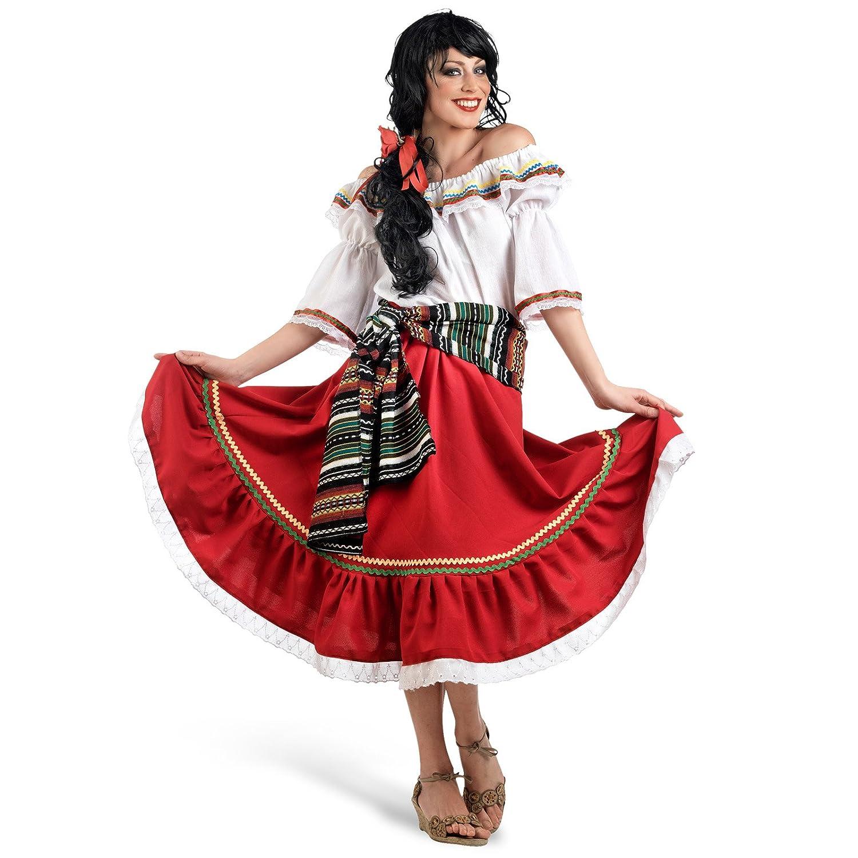 Elbenwald Carnival damas traje del bailarín de México ...