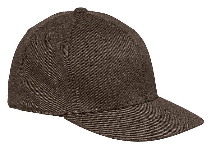 b240975f4e0 Flexfit 6210FF - Flat Bill Cap at Amazon Men s Clothing store