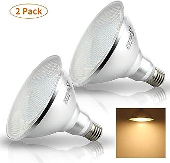3.5 Watt Orange PAR 38 LED Reflector Spot Light Bulb Dimmable