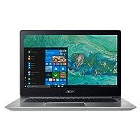 "Acer Notebook Swift 3 SF314-52-87SW, Processore Intel Core i7-8550U, RAM 8GB DDR4, 256GB Intel PCIe SSD, Windows 10 Home-14"" FHD IPS LCD, Silver"