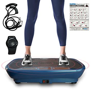 skandika Plataforma vibratoria - Home Vibration Plate V1 Twin Engine ...