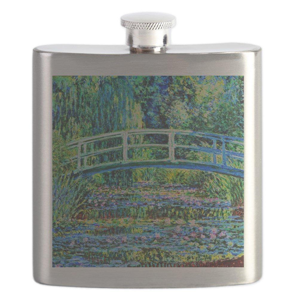 超高品質で人気の CafePress Monet B01IUK7A0Y – Monet – 水リリー池 – – ステンレススチールフラスコ、6オンスDrinkingフラスコ B01IUK7A0Y, 細江町:b5658f76 --- a0267596.xsph.ru