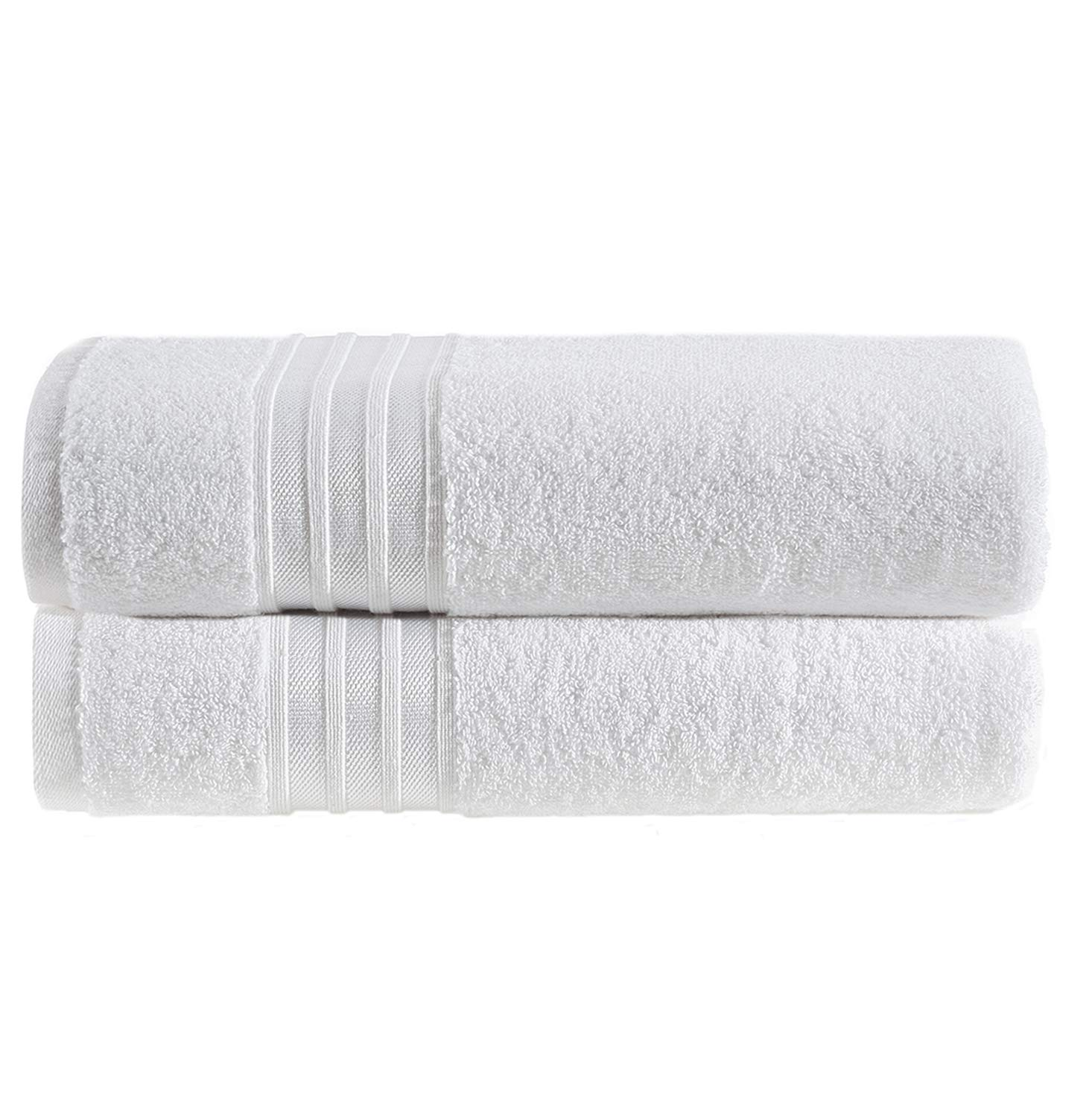Hammam Linen - Luxury White Bath Towel Set