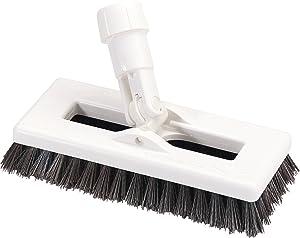 "Carlisle 363883103 Swivel Scrub Brush, 8"", Black"