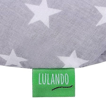 Amazon.com : Lulando Nursing Pillow, White Stars/Grey : Baby