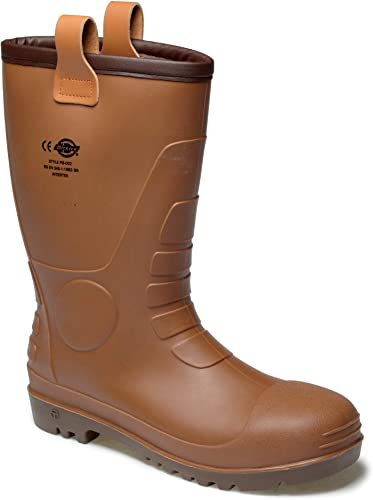 Botte PVC fourrée Groundwater S5 SRA Dickies sécurité 0wPk8nO