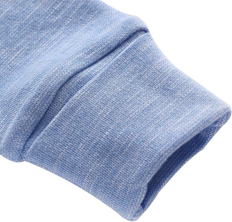 3-6 Months Baby Boys Romper Pyjamas Long Sleeve Footie Onesie Sleepsuit Newborn Bodysuit