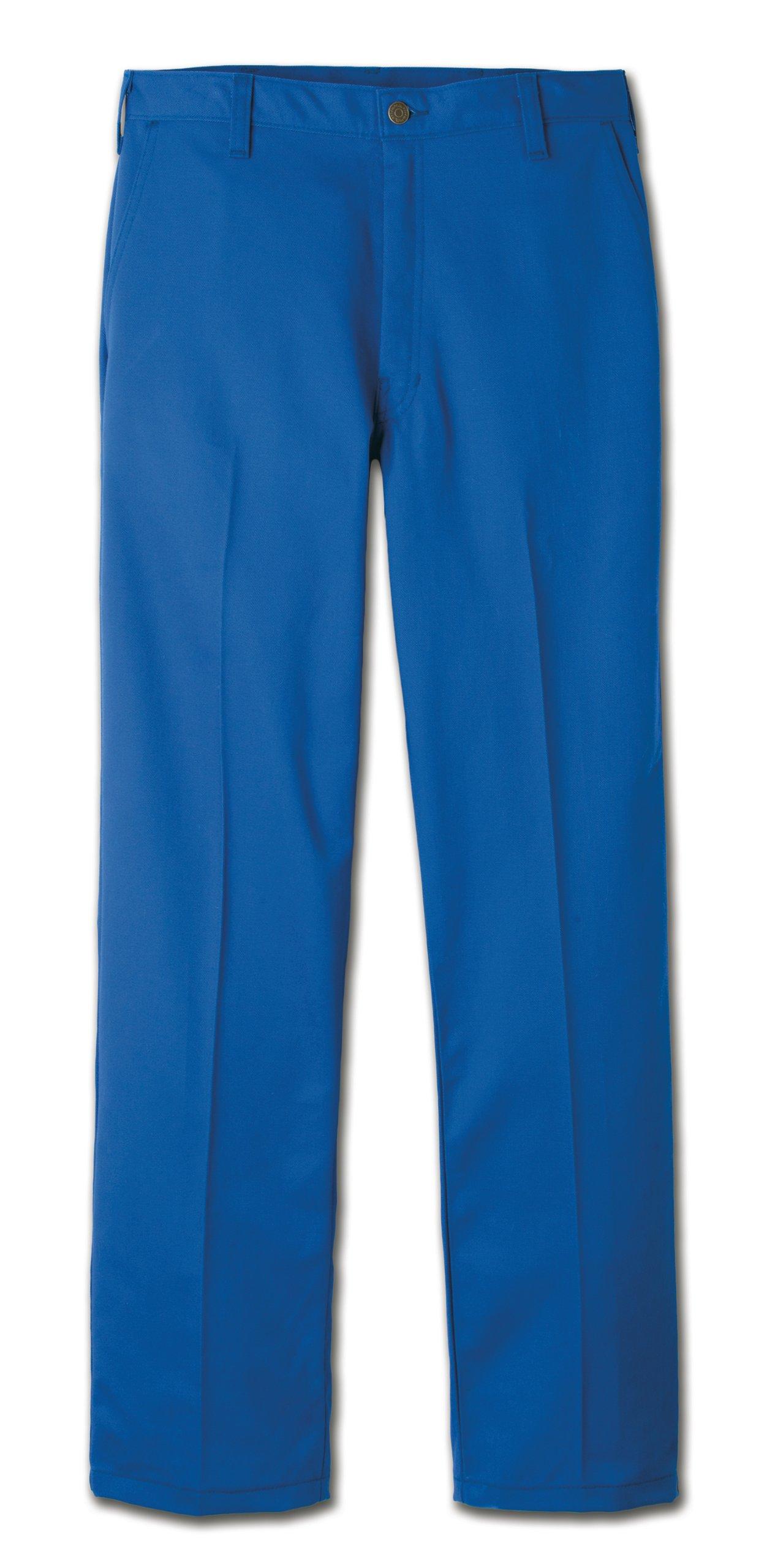 Workrite 431UT95RB40-30 Flame Resistant 9.5 oz UltraSoft Work Pant, 40 Waist Size, 30 Inseam, Royal Blue