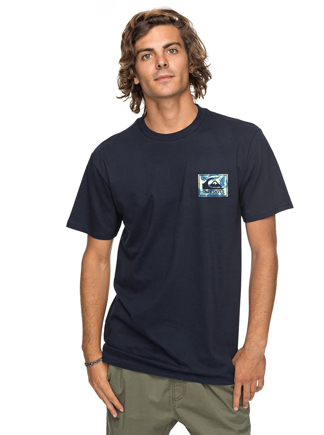 Quiksilver Mens Volcano Blues Tee
