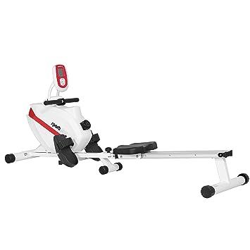 SportPlus Máquina de Remo Fitness para Uso Interior - Incluye ...