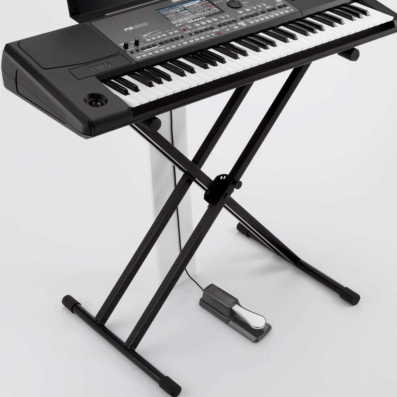 STARVAST P/édale de Sustain Universal pour Yamaha Casio Roland Korg Behringer Moog Piano MIDI Claviers /Électroniques