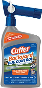 Cutter Backyard Bug Control Spray Concentrate 32-oz. Bottle