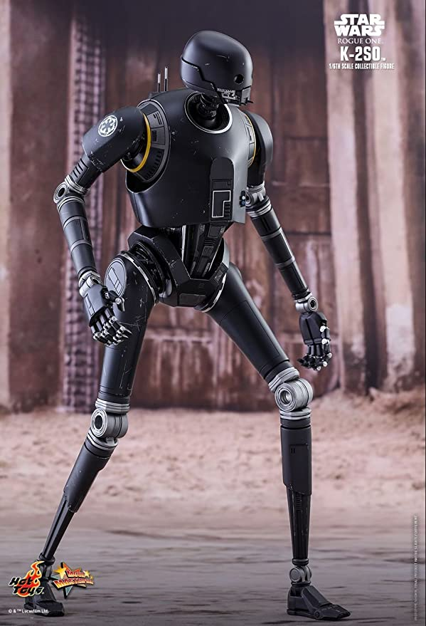 Amazon.com: Hot Toys Star Wars Rogue One A Star Wars Story K-2SO 1/6 Scale Figure: Toys & Games