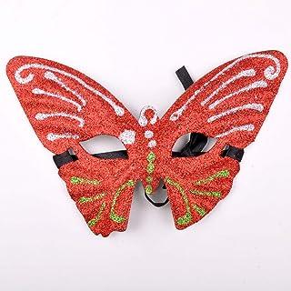 Mask- Masque de Paillettes de Masque de Maquillage composé de Masque de Papillon Masque de Mode Paillettes