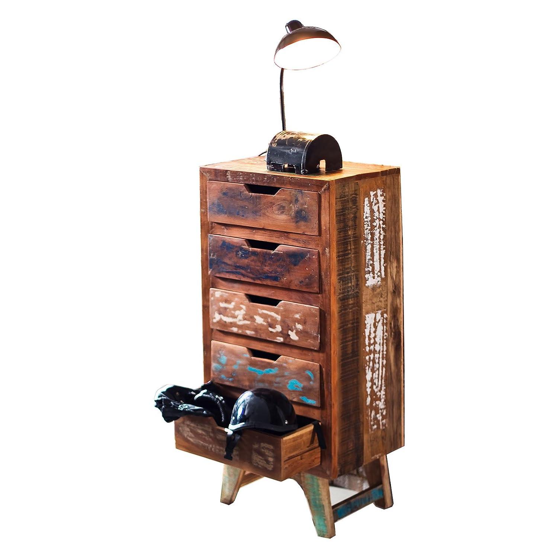 Muebles Ideal MO-Dance Malm - Cajonera de Madera Maciza Reciclado ...
