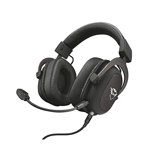 Trust GXT 414 Zamak Auriculares Gaming para PC Laptop PlayStation 4 Xbox One y Nintendo Switch Negro