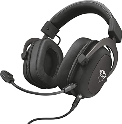 Trust GXT 414 Zamak Auriculares Gaming para PC, Laptop, PlayStation 4, Xbox One y Nintendo Switch, Negro: Amazon.es: Informática