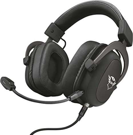 Trust GXT 414 Zamak Auriculares Gaming para PC, Laptop, PlayStation 4, Xbox One y Nintendo Switch, Negro: Amazon.es: Informática