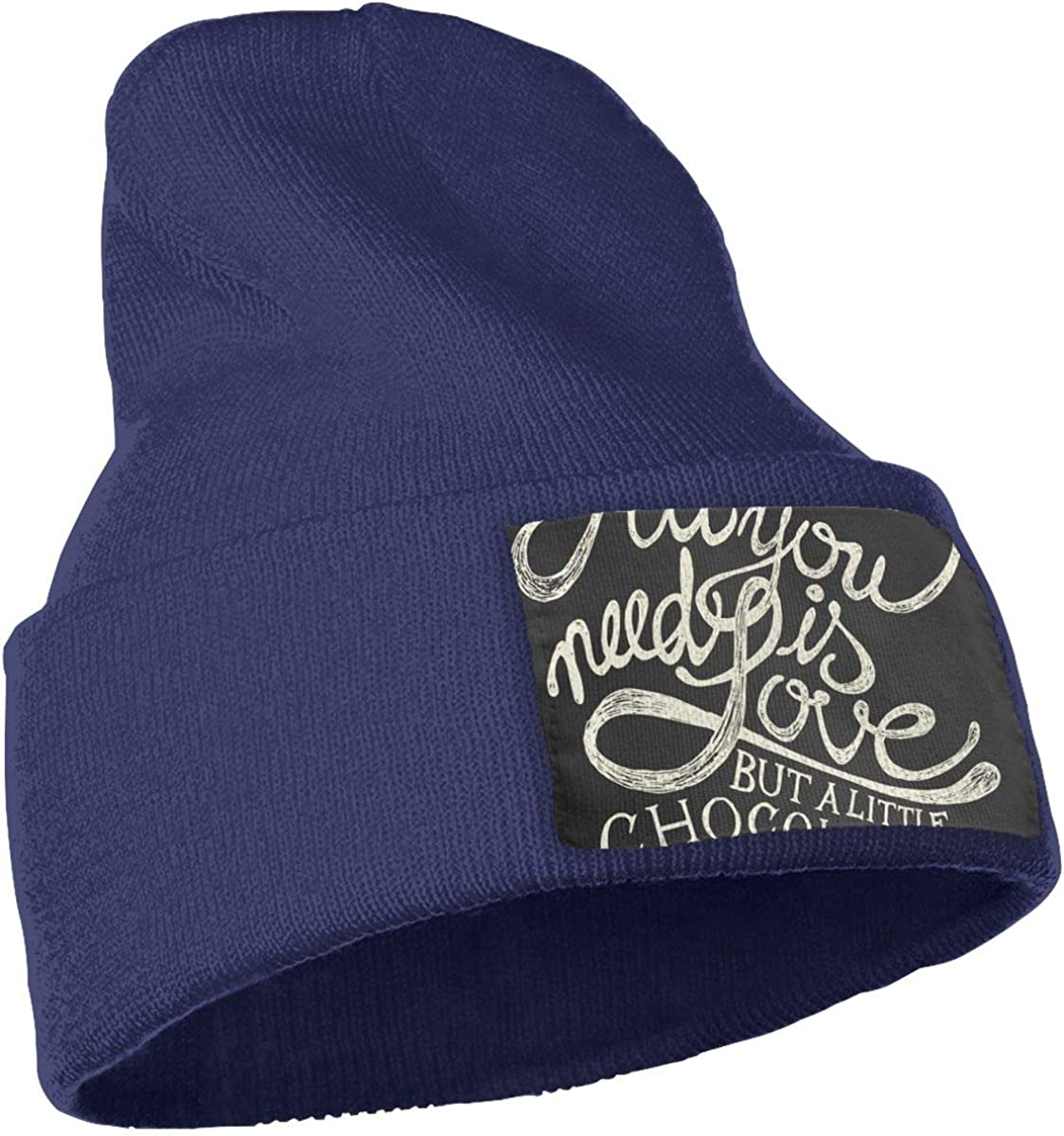 All You Need is Love Unisex Fashion Knitted Hat Luxury Hip-Hop Cap
