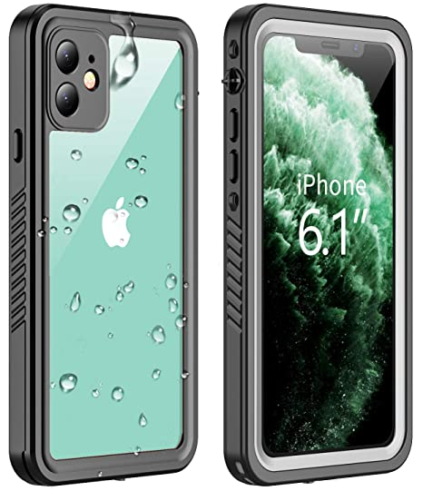 Amazon.com: Vapesoon - Funda impermeable para iPhone 11, con ...