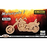 Puzzled Motorcycle 3D Jigsaw Puzzle (96-Piece), 11.5 x 4.25 x 5.25""
