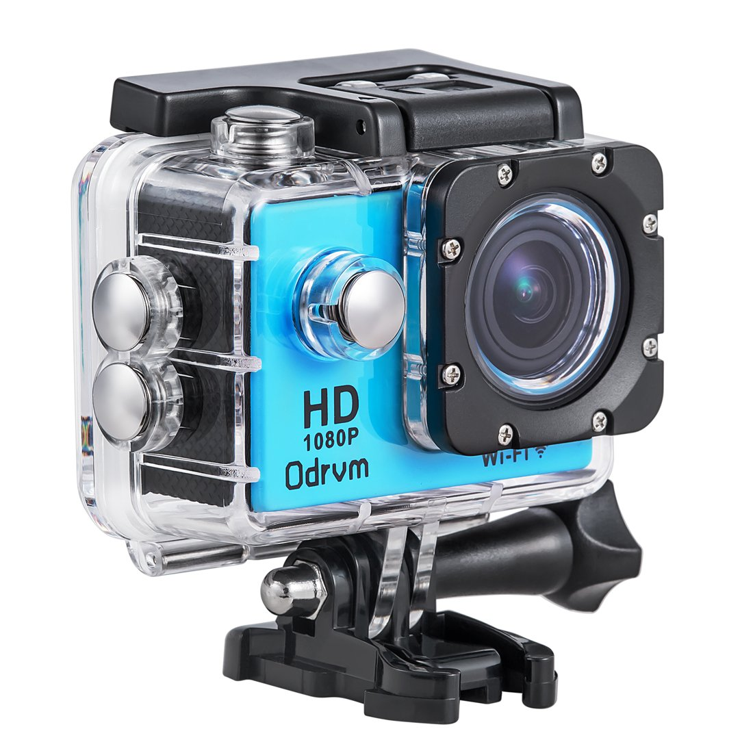 WIFI Underwater Camera 2.0-Inch LCD HD 1080P Sports Action Cameras Waterproof Camera Diving 30M With 2PCS Battery, Motorcycle Helmet Camera for Biking, Riding, Racing, Skiing, Motocross And Water Sports